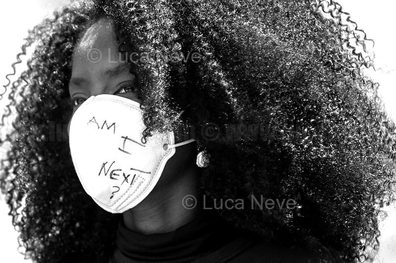Unknown, Black Lives Matter Activist.