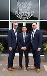 St Johnstone v Dundee United....17.05.14   William Hill Scottish Cup Final<br /> Chairman Steve Brown with Directors Stan Harris and Charlie Fraser<br /> Picture by Graeme Hart.<br /> Copyright Perthshire Picture Agency<br /> Tel: 01738 623350  Mobile: 07990 594431