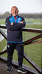 Rangers head of Recruitment Frank McParland overlooking the training ground in Milngavie