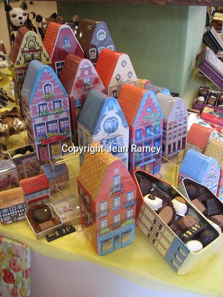 Belgian chocolates - Brugge, Belgium