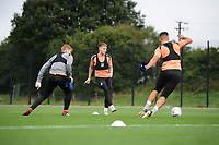 Barrie McKay of Swansea City in action during the Swansea City Training Session at The Fairwood Training Ground, Wales, UK. Tuesday 11th September 2018
