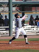 Mario Zabala takes part in the 2019 Under Armour Pre-Season All-America Tournament at the Chicago Cubs and Oakland Athletics training complexes on January 19-20, 2019 in Mesa, Arizona (Bill Mitchell)