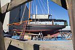 Port Townsend, yacht, Ziska, Boat Haven Marina, Port Townsend, Jefferson County, Olympic Peninsula, Washington State, Pacific Northwest, USA,