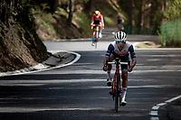 Kenny Elissonde (FRA/Trek - Segafredo) in the descent of the Col de Beixalis<br /> <br /> Stage 15 from Céret to Andorra la Vella (191km)<br /> 108th Tour de France 2021 (2.UWT)<br /> <br /> ©kramon