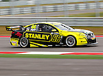 Russell Ingall (66) in action during the V8 Supercars and the Porsche GT3 Cup cars practice sessions at the Circuit of the Americas race track in Austin,Texas. ..