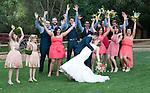 Celebrating at the wedding for  Josh & Lauren Carlton, Temecula Creek Inn