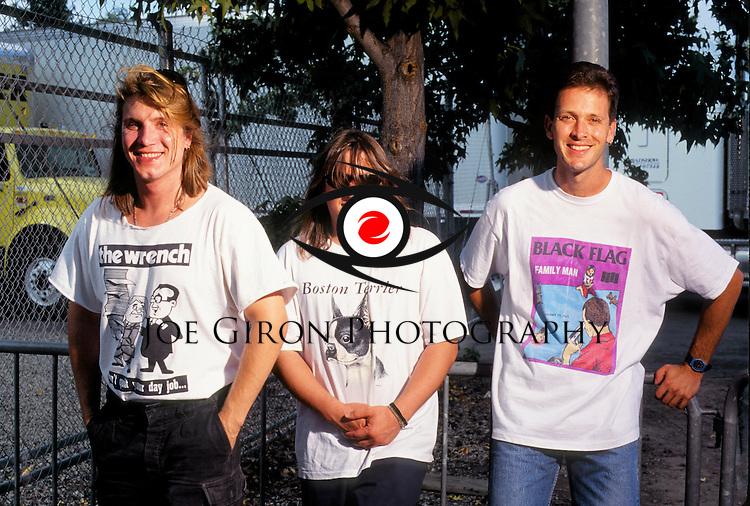 Various portraits & live photographs of the rock band, Goo Goo Dolls