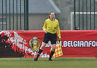 Denmark U17 - Germany U17 : Maria Etienne.foto Joke Vuylsteke / Vrouwenteam.be