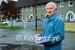 Postman Richard O'Halloran doing his rounds in Tralee.