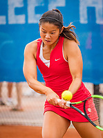 Amstelveen, Netherlands, 1 August 2020, NTC, National Tennis Center, National Tennis Championships, Women's double final:  Arianne Hartono (NED).<br /> Photo: Henk Koster/tennisimages.com