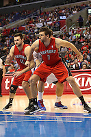 12/09/12 Los Angeles, CA: Toronto Raptors center Andrea Bargnani #7 during an NBA game between the Los Angeles Clippers and the Toronto Raptors played at Staples Center. The Clippers defeated the Raptors 102-83.