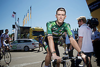Pierre Rolland (FRA/Europcar)<br /> <br /> 2014 Tour de France<br /> stage 12: Bourg-en-Bresse - Saint-Etiènne (185km)
