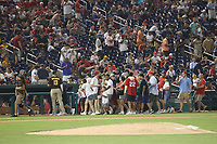 WASHINGTON, DC - JULY 17 : View of fans as two were shot outside Nationals Park during Nationals game against the San Diego Padres in Washington, D.C. on July 17, 2021. <br /> CAP/MP34<br /> ©MPI34/Capital Pictures
