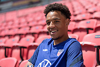 SANDY, UT - JUNE 8: Bryan Reynolds of the United States during a training session at Rio Tinto Stadium on June 8, 2021 in Sandy, Utah.
