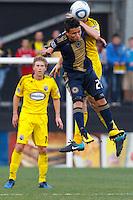 24 OCTOBER 2010:  Philadelphia Union midfielder Eduardo Coudet (21) during MLS soccer game against the Columbus Crew at Crew Stadium in Columbus, Ohio on August 28, 2010.