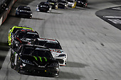 #18: Riley Herbst, Joe Gibbs Racing, Toyota Supra Monster Energy, #20: Harrison Burton, Joe Gibbs Racing, Toyota Supra Hunt Brothers Pizza/DEX Imaging