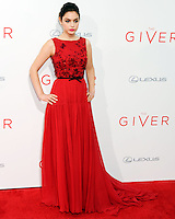 NEW YORK CITY, NY, USA - AUGUST 11: Actress Odeya Rush arrives at the New York Premiere Of The Weinstein Company's 'The Giver' held at the Ziegfeld Theatre on August 11, 2014 in New York City, New York, United States. (Photo by Celebrity Monitor)