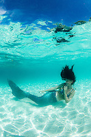 Mermaid Crystal underwater<br />