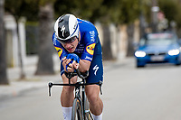 João Almeida (POR/Deceuninck - Quick Step)<br /> <br /> Final stage 7 (ITT) from San Benedetto del Tronto to San Benedetto del Tronto (10.1km)<br /> <br /> 56th Tirreno-Adriatico 2021 (2.UWT) <br /> <br /> ©kramon