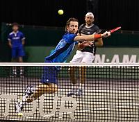 Rotterdam, The Netherlands, 3 march  2021, ABNAMRO World Tennis Tournament, Ahoy, First round doubles: Wesley Koolhof (NED) / Lukasz Kubot (POL).<br /> Photo: www.tennisimages.com/henkkoster