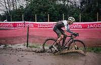 Quinten Hermans (BEL/Tormans)<br /> <br /> UCI cyclo-cross World Cup Dendermonde 2020 (BEL)<br /> <br /> ©kramon