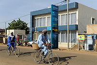 BURKINA FASO , Dori, african Eco Bank and Western Union money transfer, Ecobank Transnational Incorporated (ETI) , founded 1985 in Togo, offers micro-finance also
