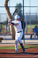 Jaret Taylor (46), from Waianae, Hawaii, while playing for the Nationals during the Under Armour Baseball Factory Recruiting Classic at Red Mountain Baseball Complex on December 29, 2017 in Mesa, Arizona. (Zachary Lucy/Four Seam Images)
