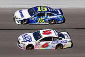 2017 NASCAR Monster Energy Cup - Daytona 500<br /> Daytona International Speedway, Daytona Beach, FL USA<br /> Sunday 26 February 2017<br /> Trevor Bayne and Michael Waltrip<br /> World Copyright: Russell LaBounty/LAT Images<br /> ref: Digital Image 17DAY2rl_09392