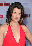 Cobie Smulders  at The World Premiere of Marvel's Iron Man 3 held at The El CapitanTheatre in Hollywood, California on April 24,2013                                                                   Copyright 2013 Hollywood Press Agency