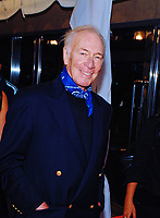"""05 February 2021 - Oscar-winning actor and """"Sound of Music"""" star Christopher Plummer has died at age 91.  File Photo: TIFF 2007, Roy Thomson Hall, Toronto, Ontario, Canada. Photo Credit: Brent Perniac/AdMedia"""