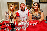 Enjoying the evening in Cassidy's on Saturday, l to r: Lisa O'Shea, Paul Turner and Jean O'Shea.
