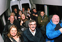 G4S staff of Parc Prison, celebrate 20 years of employment at The Red Dragon Pub, Bridgend, Wales, UK. Friday 17 November 2017