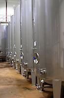 Fermentation tanks. Herdade das Servas, Estremoz, Alentejo, Portugal