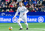 Sergio Ramos of Real Madrid in action during the La Liga 2017-18 match between Levante UD and Real Madrid at Estadio Ciutat de Valencia on 03 February 2018 in Valencia, Spain. Photo by Maria Jose Segovia Carmona / Power Sport Images