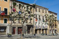 Piazza Tola in Sassari,  Provinz Sassari, Nord - Sardinien, Italien