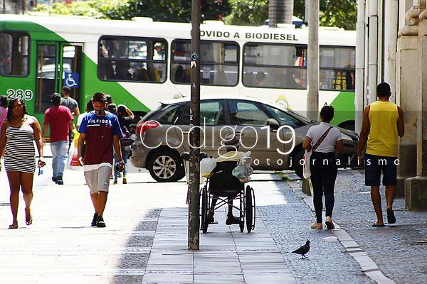 Campinas (SP), 16/01/2021 - Comercio-SP - Movimento na região central de Campinas, neste sábado (16).