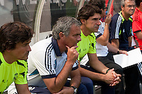 Real Madrid manager Jose Mourinho. Real Madrid defeated Celtic F. C. 2-0 during a 2012 Herbalife World Football Challenge match at Lincoln Financial Field in Philadelphia, PA, on August 11, 2012.
