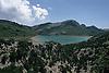 Cuber reservoir in the Tramontana mountains<br /> <br /> Embalse de Cúber en la Sierra de Tramontana (cat.: Serra de Tramuntana), municipio de Escorca<br /> <br /> <br /> Cúber-Stausee im Tramontana-Gebirge<br /> <br /> 2613 x 1742 px<br /> 150 dpi: 44,25 x 29,50 cm<br /> 300 dpi: 22,12 x 14,75 cm<br /> Original: 35 mm slide transparency