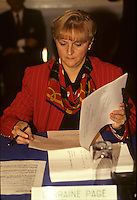 Lorraine Page<br />  circa 1990
