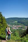 Deutschland, Thueringen, bei Zella-Mehlis: Blick auf den Ortsteil Goldlauter<br /> | Germany, Thuringia, near Zella-Mehlis: view at district Goldlauter
