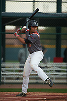 Tyson Banks (16) of Permian High School in Odessa, Texas during the Under Armour All-American Pre-Season Tournament presented by Baseball Factory on January 14, 2017 at Sloan Park in Mesa, Arizona.  (Art Foxall/MJP/Four Seam Images)