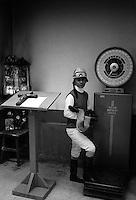 Pix:Michael Steele/SWpix...Horse Racing. Jockey, Tijuana races, Mexico, 1988...COPYRIGHT PICTURE>>SIMON WILKINSON..Jockey, Tijuana races, Mexico.