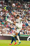 Real Madrid's player Raphael Varane during a match of La Liga Santander at Santiago Bernabeu Stadium in Madrid. August 27, Spain. 2016. (ALTERPHOTOS/BorjaB.Hojas)