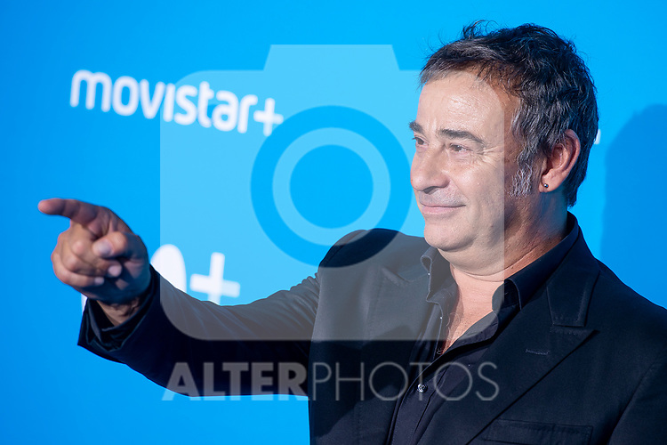 Eduard Fernandez attends to blue carpet of presentation of new schedule of Movistar+ at Queen Sofia Museum in Madrid, Spain. September 12, 2018. (ALTERPHOTOS/Borja B.Hojas)