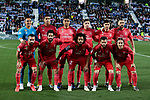 Real Madrid's team photo during La Liga match between CD Leganes and Real Madrid at Butarque Stadium in Leganes, Spain. April 15, 2019. (ALTERPHOTOS/A. Perez Meca)