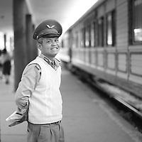 Dalat Old Train station at end of december