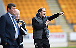 St Johnstone v Partick Thistle…29.10.16..  McDiarmid Park   SPFL<br />Alan Archibald, Thistle manager<br />Picture by Graeme Hart.<br />Copyright Perthshire Picture Agency<br />Tel: 01738 623350  Mobile: 07990 594431