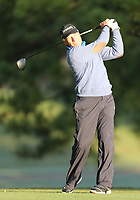 17th October 2020; Richmond, Virginia, USA;  Bernhard Langer drives the ball from the 2nd tee during the Dominion Energy Charity Classic on October 17, 2020, at The Country Club of Virginia James River Course in Richmond
