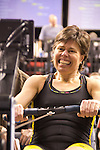 Concept2 Crash-B World Indoor Rowing Championships, 2012, Senior Master Women (Age 40-49), 1st, Margit Haahr Hansen, Concept2, athletes compete annually on a Concept2 Indoor Rower for time over 2000 meters, Agganis Arena, Boston University, Boston, Massachusetts,