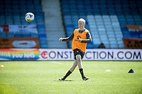 17th April 2021; Kenilworth Road, Luton, Bedfordshire, England; English Football League Championship Football, Luton Town versus Watford; Will Hughes captain of Watford during warm up.